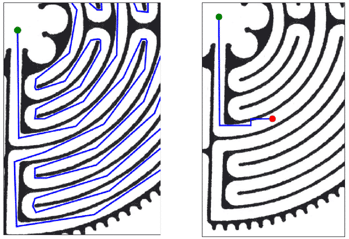 Routing problems due to bad mesh