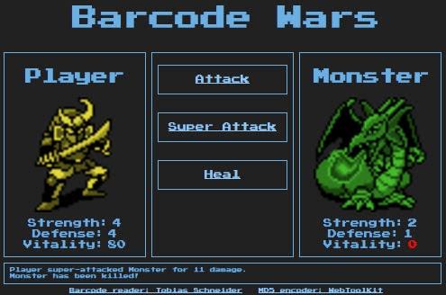 Barcode Wars