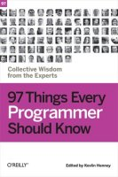 97 Things Every Programmer Should Know book cover