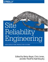Site Reliability Engineering book cover