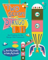 Two Scoops of Django 1.11 book cover