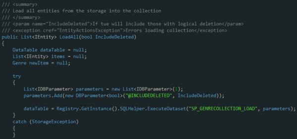 Visual Studio 2010 dark schema