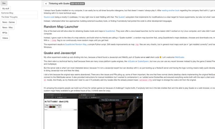 PBRR Screenshot