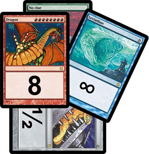 Magic estimation deck