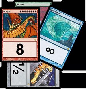Magic estimation deck
