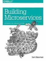 Building Microservices book cover