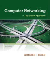 Computer Networking - A Top-Down Approach book cover