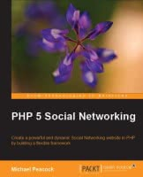 PHP 5 Social Networking book