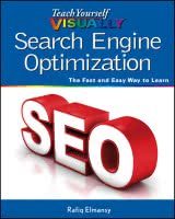 Teach yourself visually Search Engine Optimization book cover