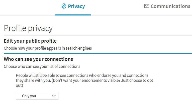 The most interesting privacy option