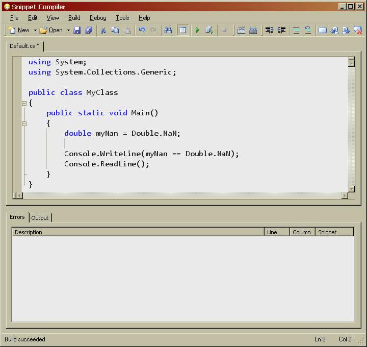 SnippetCompiler Screenshot