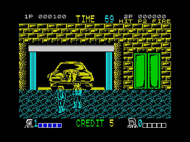 Double Dragon on the Spectrum