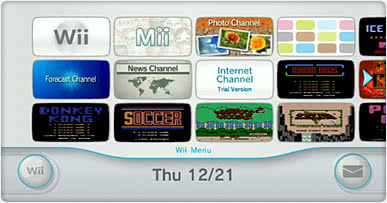 Wii Channels