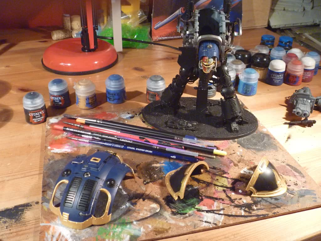 Imperial Knight painting