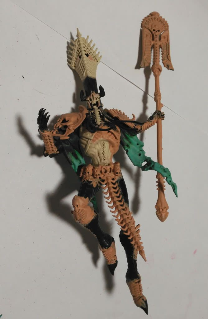 Nagash main miniature detail