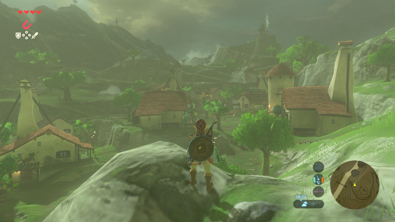 Sample screenshot from Zelda Breath of the Wild