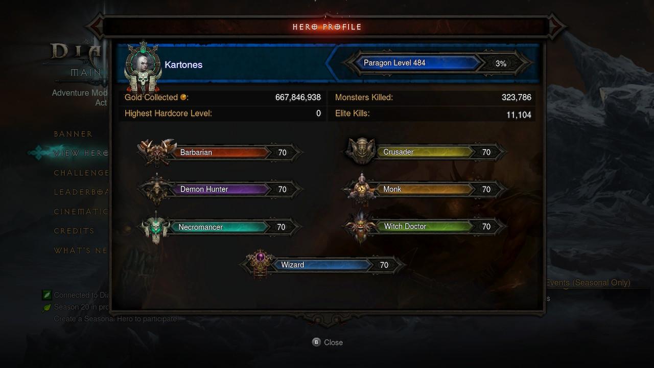 Diablo 3 character profile screenshot