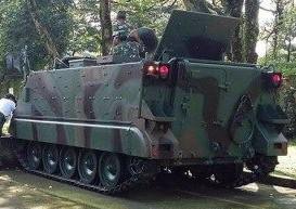 M113A1 APC back
