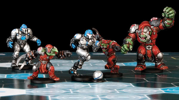 Mantic Dreadball miniatures