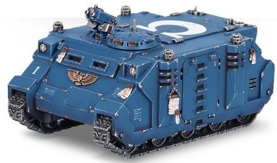 Warhammer 40,000 Rhino APC MK.II