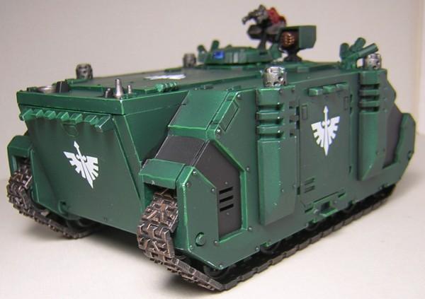 Warhammer 40,000 Rhino APC MK.I back