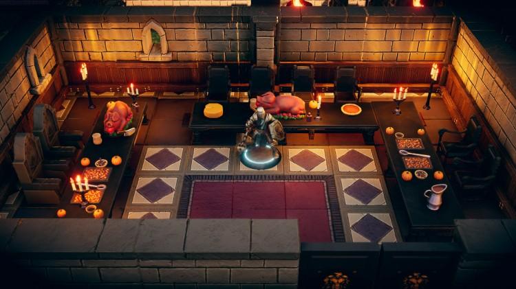 Talespire Screenshot: Inside a castle