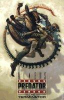 Alien vs Predator vs The Terminator comic book cover