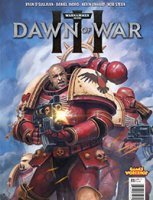 Warhammer 40k: Dawn of War comic book cover