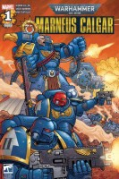 Warhammer 40,000: Marneus Calgar comic book cover