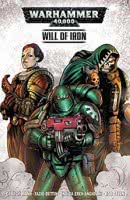 Warhammer 40000: Will of Iron comic book cover