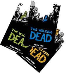 The Walking dead book covers