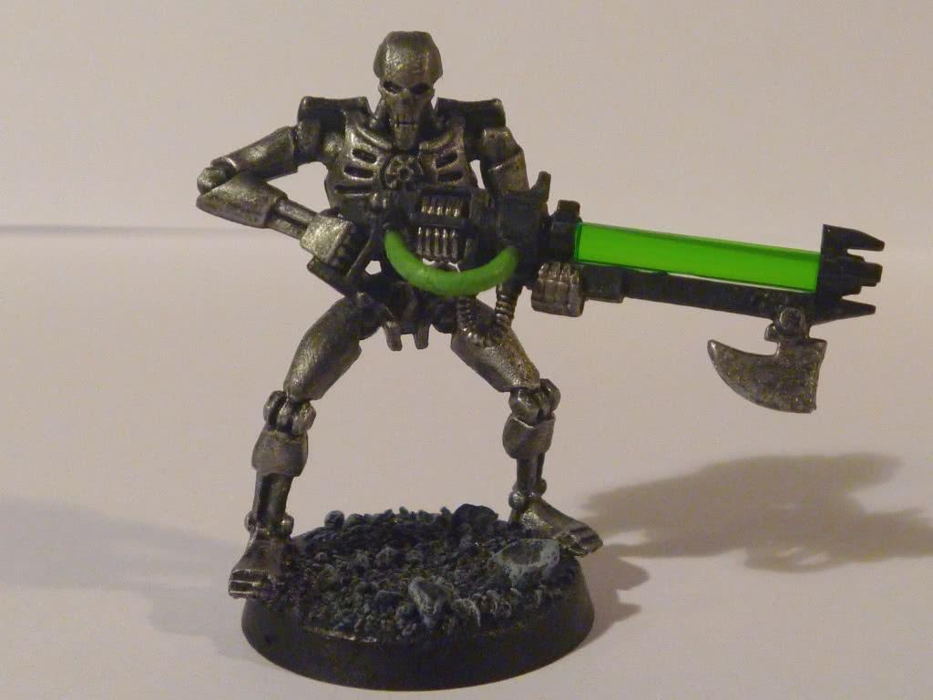 Painted Necron