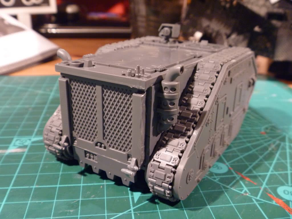 Leman Russ Rhino conversion photo