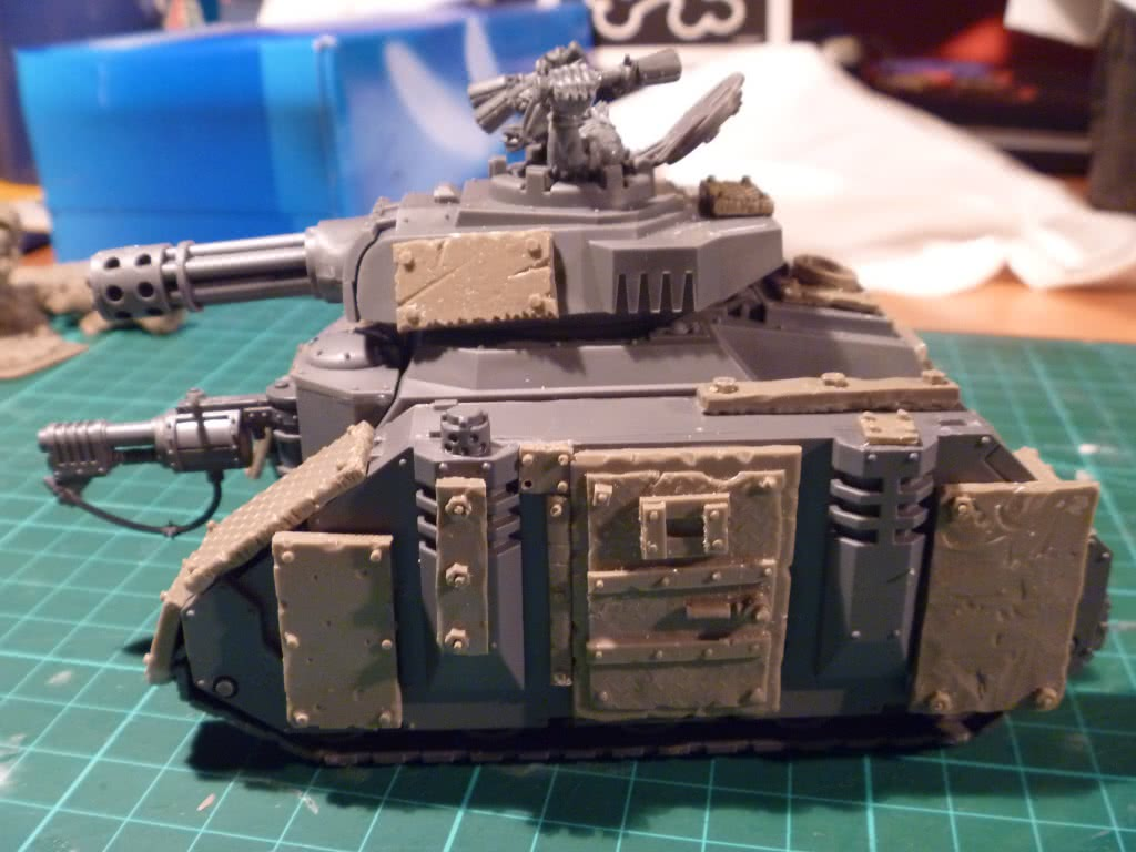 Ork Dakka Burna Tank photo