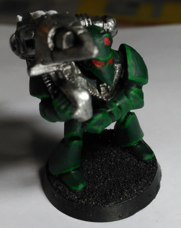 Rogue Trader Space Marine WIP