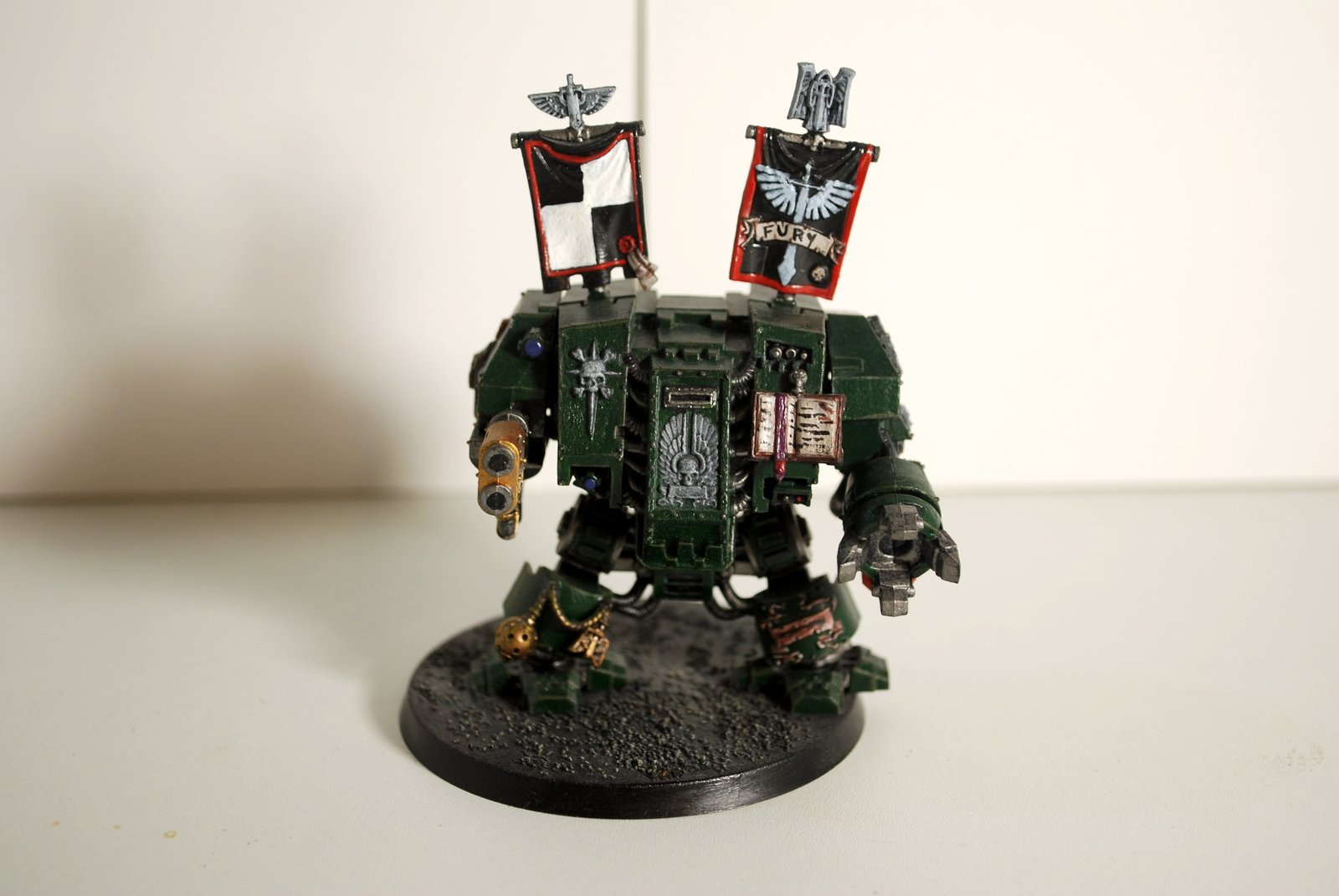 Dark Angels Space Marines Dreadnought
