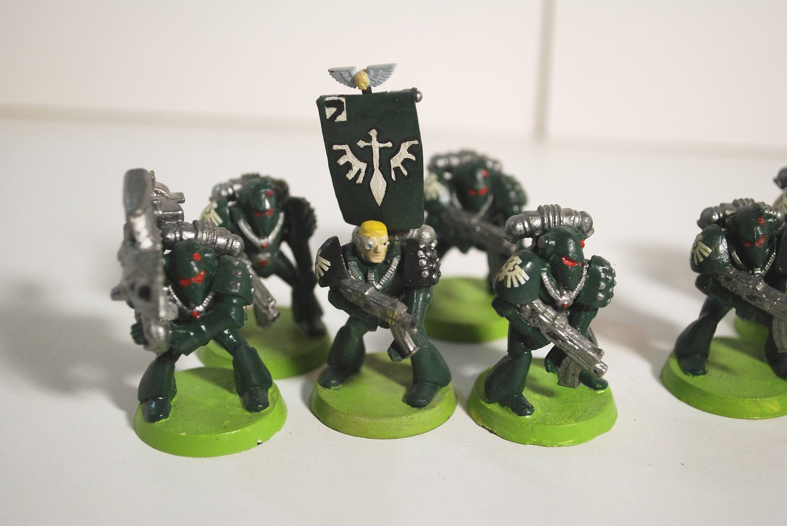Rogue Trader Dark Angel Space Marines